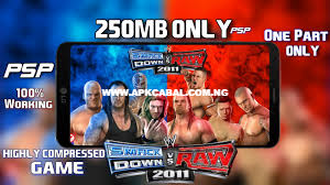 Download WWE SmackDown vs Raw 2011 PSP ISO Highly Compressed - PPSSPP Rom  Games