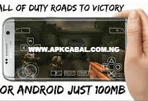call of duty roads to victory ppsspp