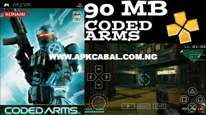 coded arms ppsspp