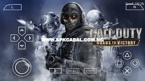 download call of duty roads to victory ppsspp iso