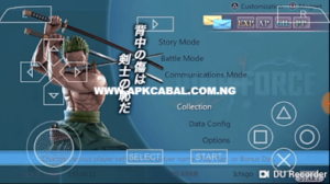 jump force psp iso