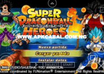 dragon ball super heroes ppsspp