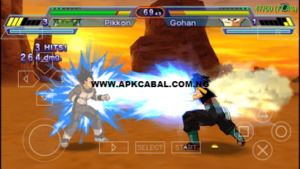 super dragon ball heroes ppsspp