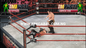 tna impact cross the line psp download