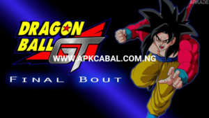 dragon ball gt final bout psx iso