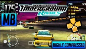 need for speed underground rivals ppsspp
