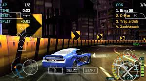 need for speed underground rivals ppsspp iso highly compressed