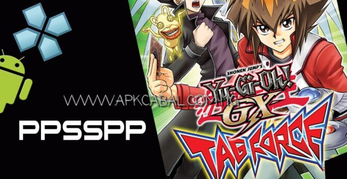 yugioh gx tag force ppsspp