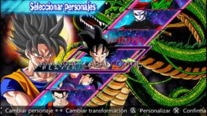 Dragon ball Z Shin Budokai 5 PPSSPP Download Highly Compressed