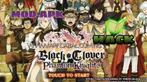 black clover phantom knights mod
