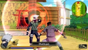 Download game PPSSPP Naruto Akatsuki Rising highly compressed