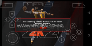 nba 2k21 psp iso highly compressed
