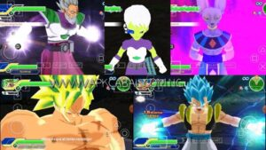 Dragon Ball Z Anime Crossover mod ppsspp