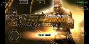 UFC Undisputed 2010 PPSSPP ISO Highly Compressed