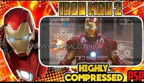 iron man 2 psp iso highly compressed