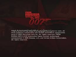 007 from russia with love psp