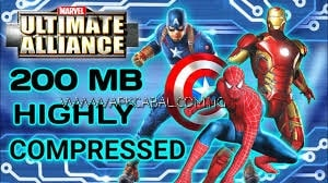 Marvel Ultimate Alliance PPSSPP ISO Highly