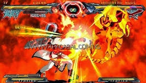 Guilty Gear XX Accent Core Plus PPSSPP ISO