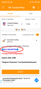 glo unlimited free browsing cheat ha tunnel