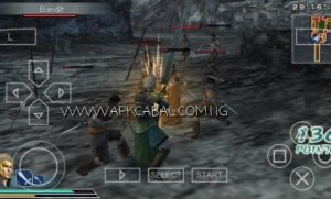 Dynasty Warriors Strikeforce PSP ISO Highly Compressed