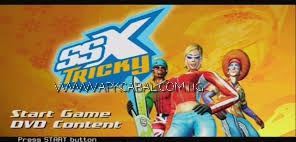 SSX Tricky PS2 ISO Highly Compressed