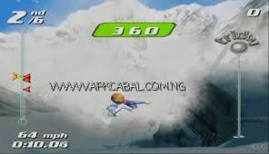 SSX Tricky highly compressed ps2