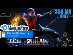 Download Spider Man Miles Morales PPSSPP ISO Highly Compressed Zip 350MB Free 1