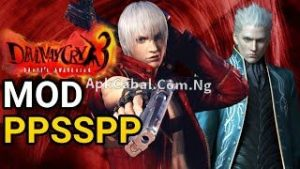 Devil May Cry PPSSPP ISO