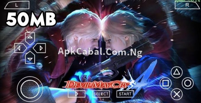 Devil May Cry PPSSPP ISO Highly Compressed