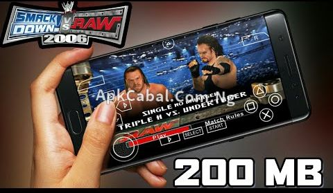 WWE Smackdown vs Raw 2006 PPSSPP ISO Highly Compressed